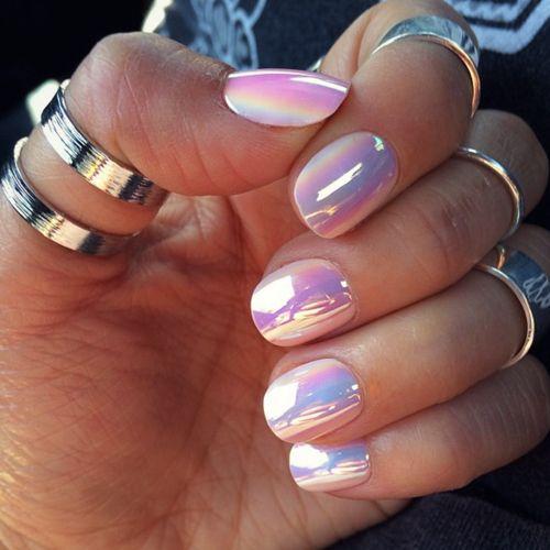 Glowing nails
