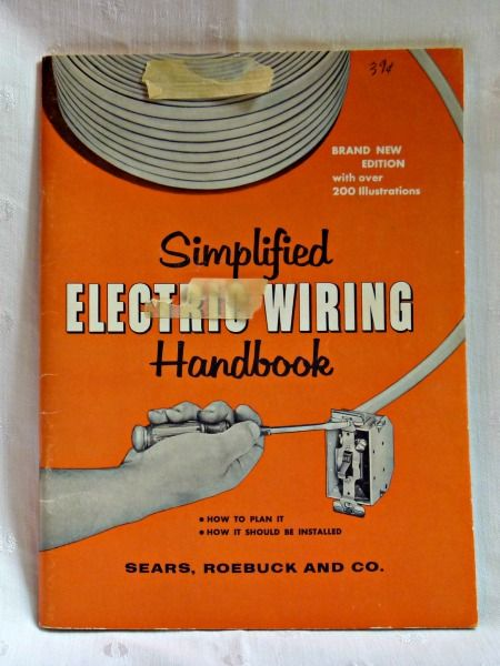 Wondrous Electrical Wiring Handbook Simplified 1960 Vintage Sears Books Wiring Cloud Hisonuggs Outletorg