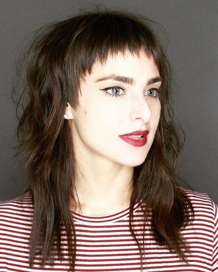 Fresh Ideas Modern Short Shaggy Hairstyle Haircut 2018 Hairstyles 19 Lange Haare Mit Pony Beliebteste Frisuren Vokuhila Frisur
