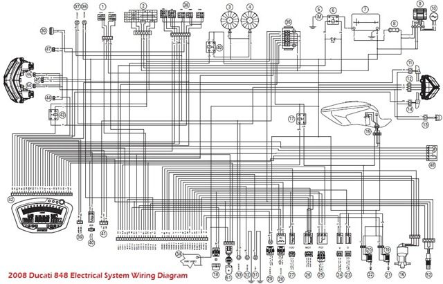 index of 2008 ducati 848 electrical system wiring diagram schematic rh pinterest com Ducati 100Ss Wiring Diagrams ducati 848 evo wiring diagram