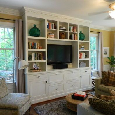 Entertainment Center Design Pictures Remodel Decor And Ideas - Built in cabinets entertainment center design pictures remodel