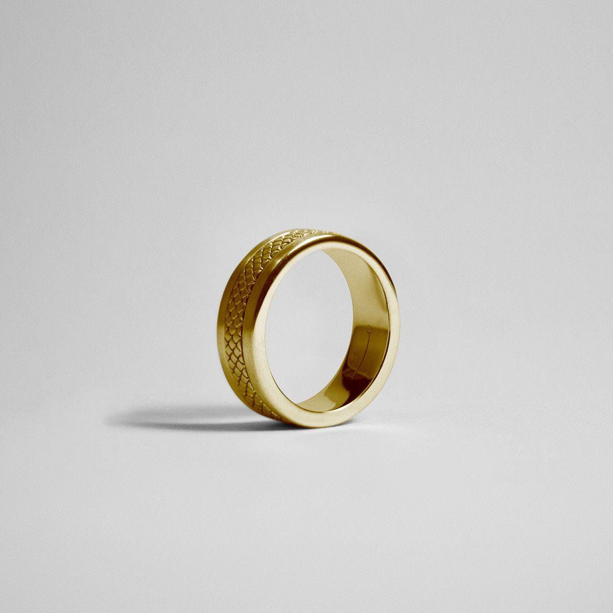 ROTATION RING / gold - alexorso | 22kt Gold - Mens Jewellery ...