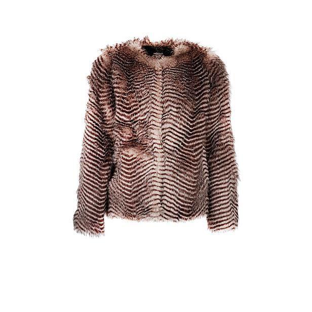 6116998d6701df Morgan jack van imitatiebont wehkamp #animal #print #faux #fur #hairy #pink  #jacket #toi
