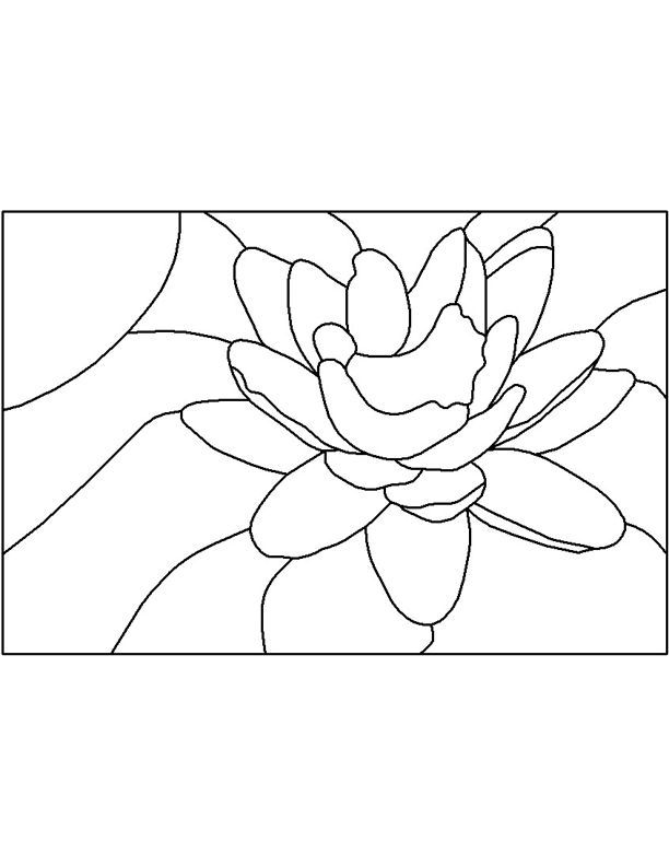 Stained Glass Patterns for FREE ★ glass pattern 482