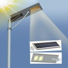 Factory Price Durable Aluminum Integrated Solar Street Lights