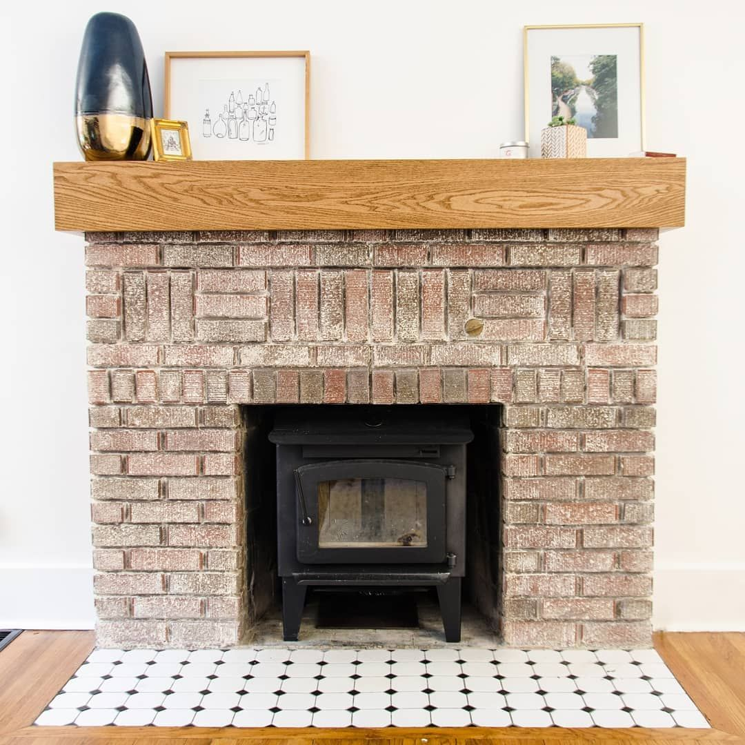 Brick Fireplace Restoration Removing Paint From Interior Brick Painting Brick Salt Rook New Post With An Update On Fireplace House Styles Painted Brick