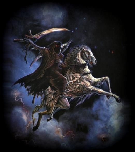 Ghost Rider Quotes About Life And Death: Behold, The Pale Horse, And It's Rider Is Death