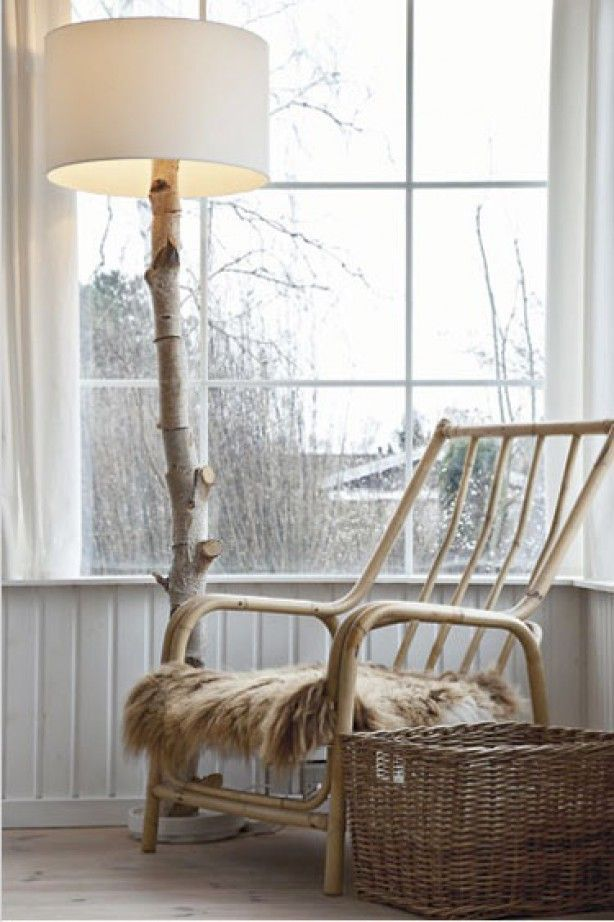 Recycle Reuse Renew Mother Earth Projects: How To Make Your Own Tree Branch  Lamp (Beauty Design Furniture)