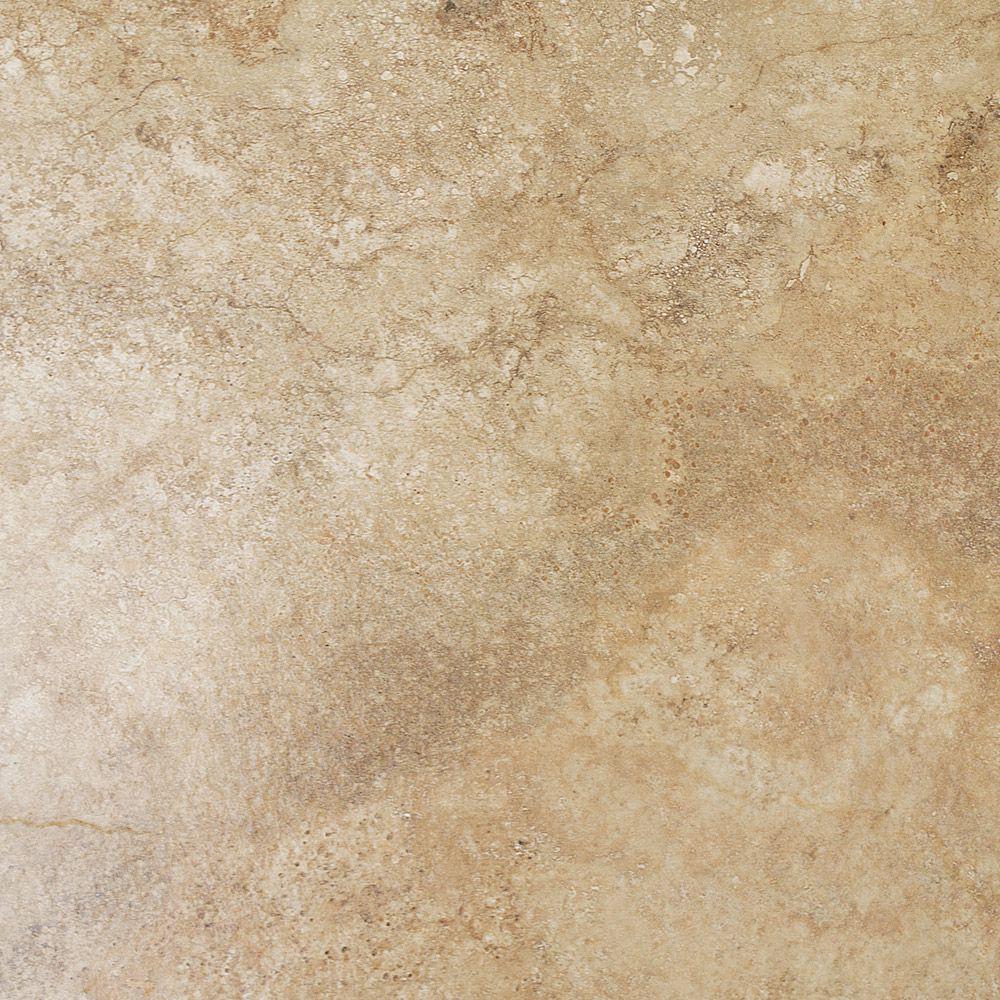Salerno Noce Travertine Effect Floor Tiles - 450mm x 450mm | Victorian