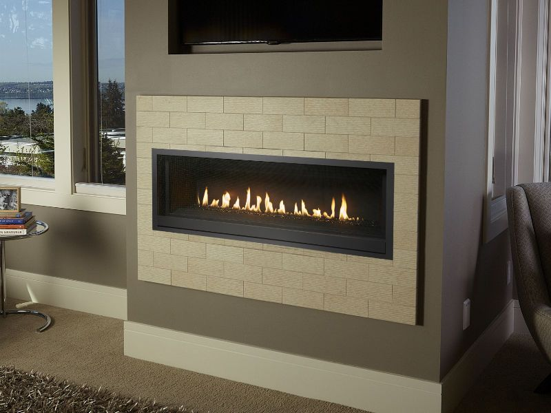 Travis Probuilder Linear Gas Fireplace Feature The Coolsmart Tv Wall Option Which Allows You To Safely Install A T Gas Fireplace Fireplace Tv Above Fireplace
