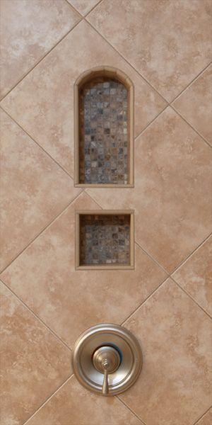 Premade Niche Ceramic Stone Tile Contractor Talk Shower Niche Stone Tiles Niche