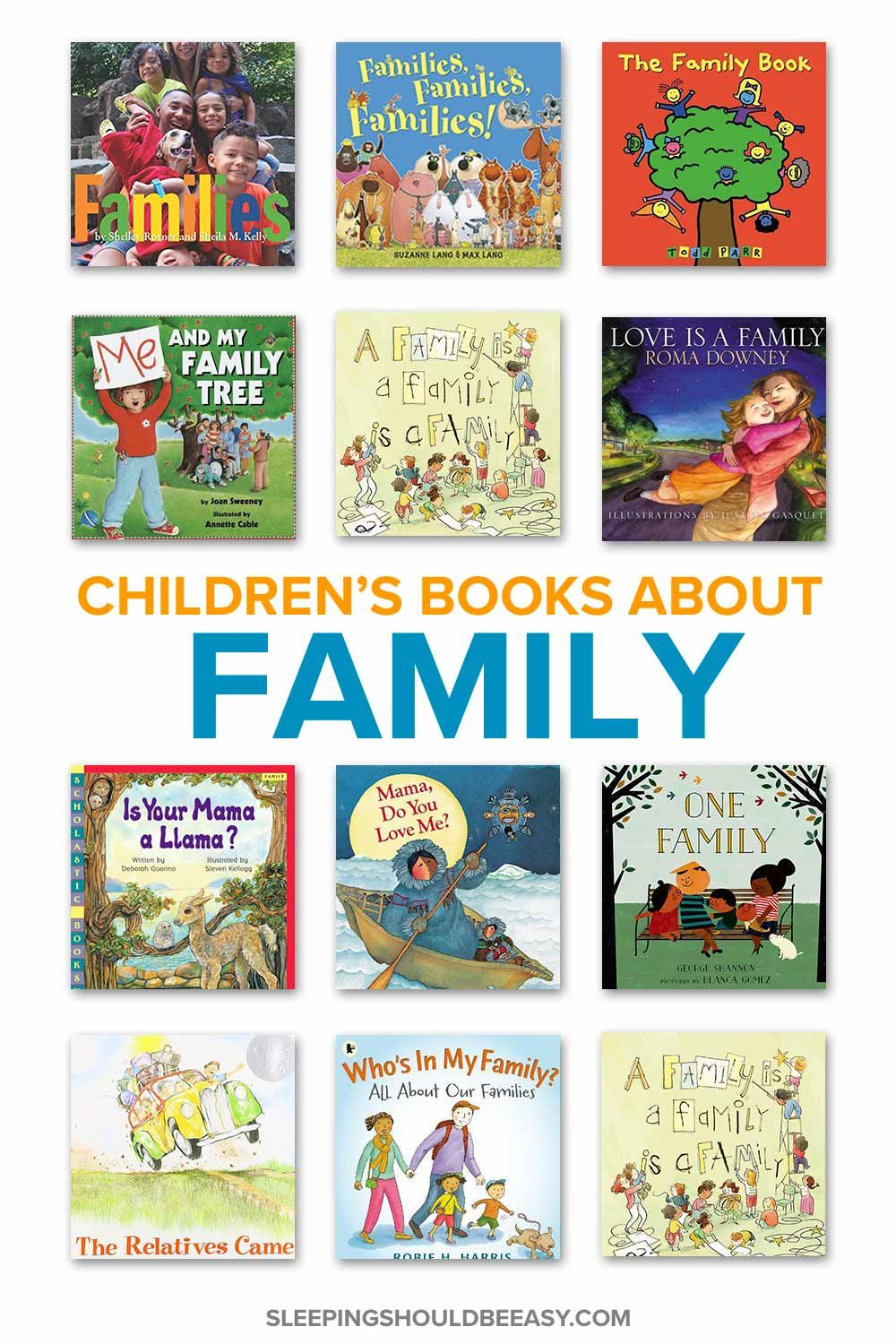 Childrens books about family childrens books about