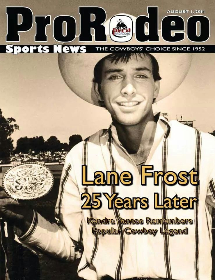 Lane Frost Quotes Simple Lane Frost Still Makin Front Page Bullriding Pinterest Lane