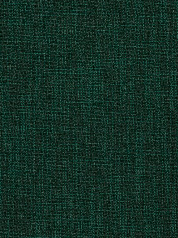 A Woven Durable Upholstery Fabric In Dark Emerald Green With Slub Weave For Aesthetics And Slight Texture This Is Suitable Heavy Use Furniture