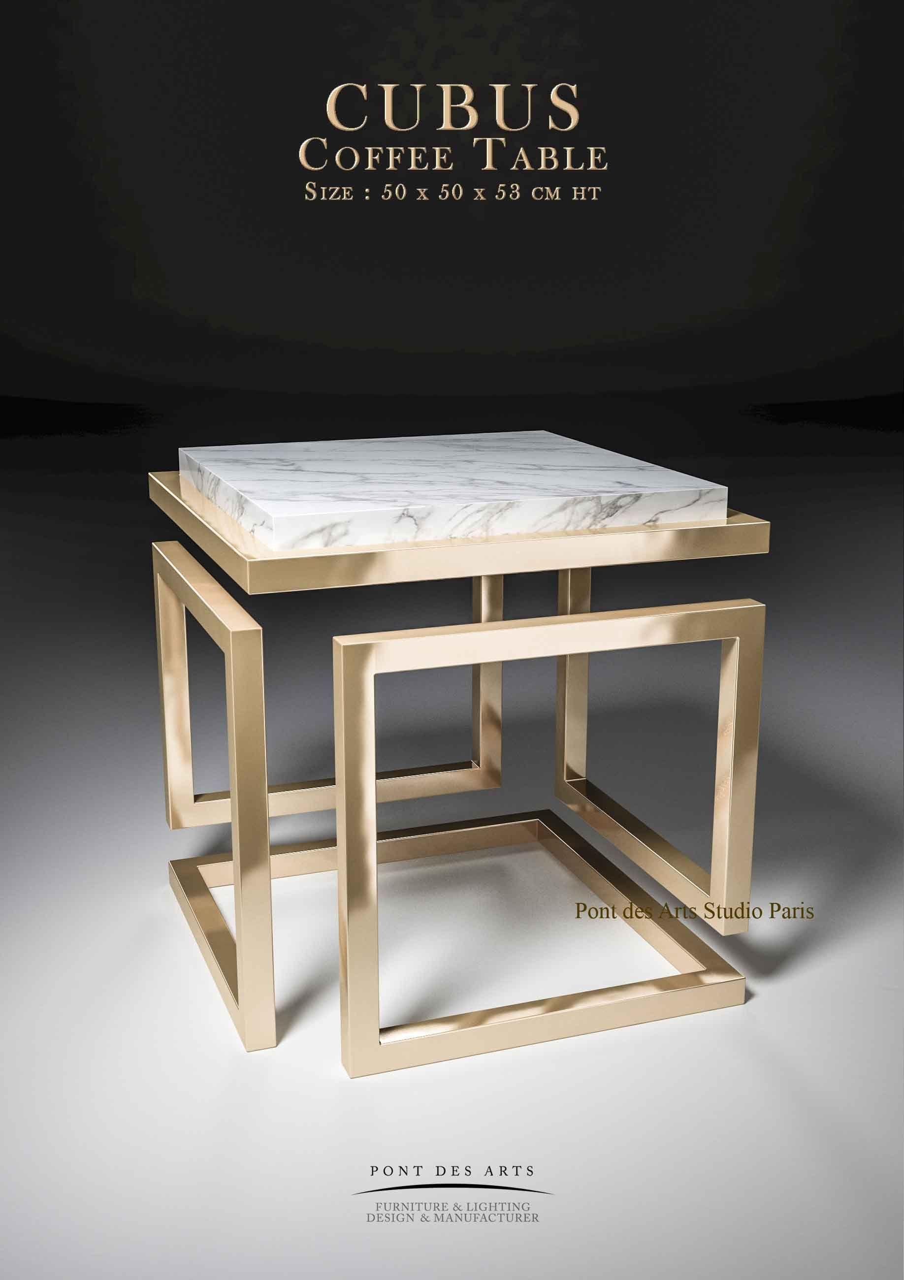 Sculptural Coffee Table Designer Monzer Hammoud Pont Des Arts Studio Paris Table Hotel Yacht Coffeetabl