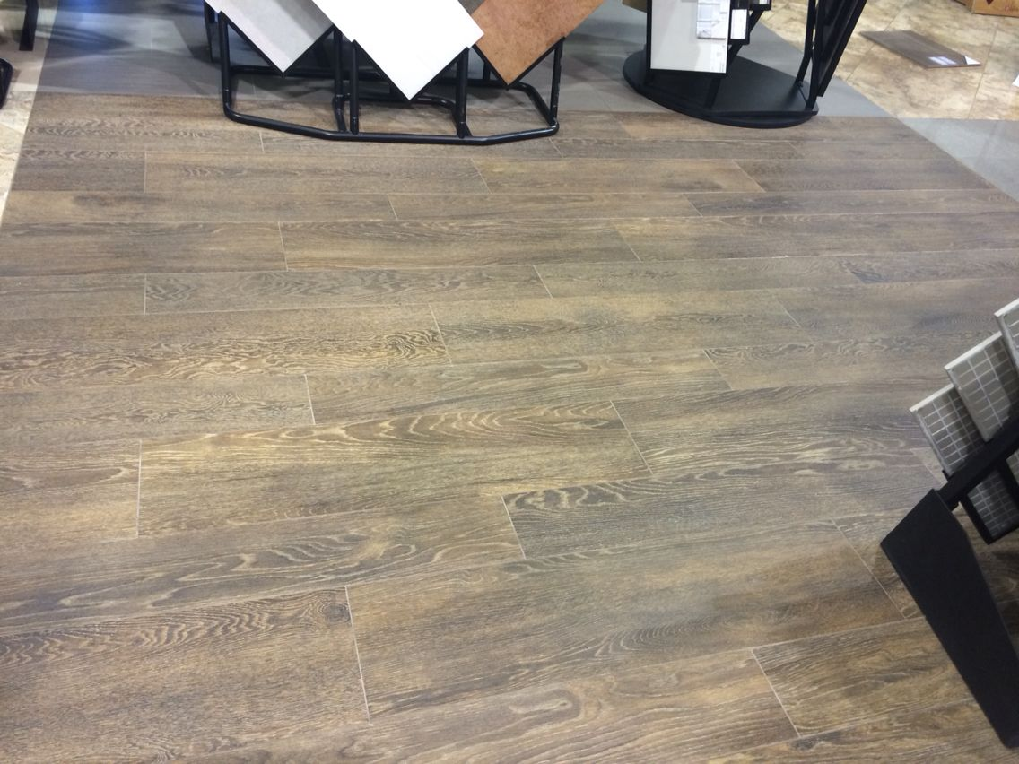 Ragno Cambridge Oak In Brown Marazzi Floor Tile That Looks Exactly Like Wood Comes 3 Colors Black Natural