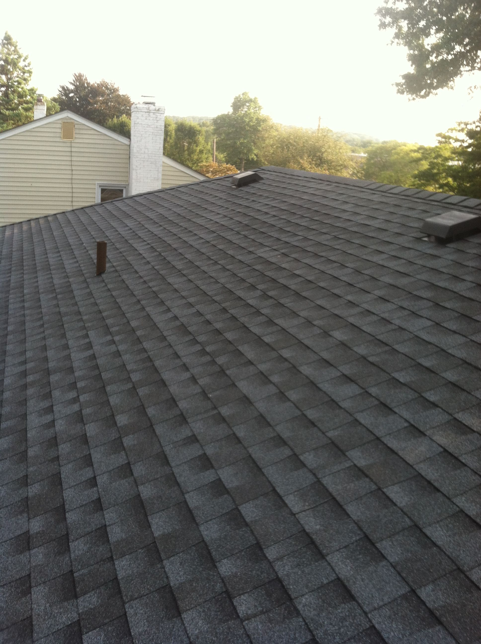 Gaf 30 Yr Timberline Installed By Nill Contracting All Hand Nailed Www Nillcontracting Com Roof Leak Repair Roofing Roof