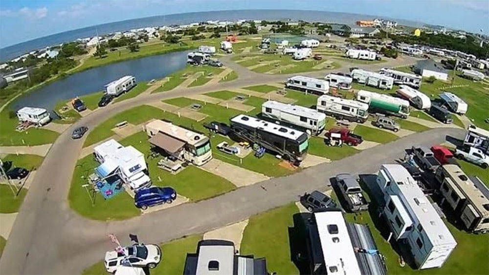 Camp Hatteras Rv Resort Campground At Rodanthe Nc Rv Parks And Campgrounds Best Campgrounds Best Rv Parks