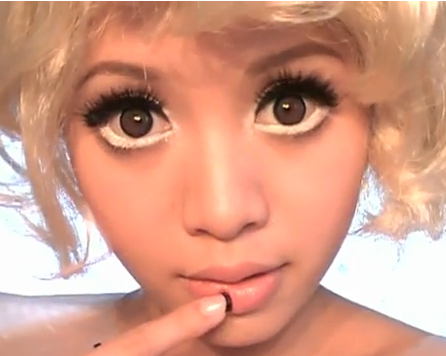Circle Contact Lenses Are Special Extra Wide Cosmetic