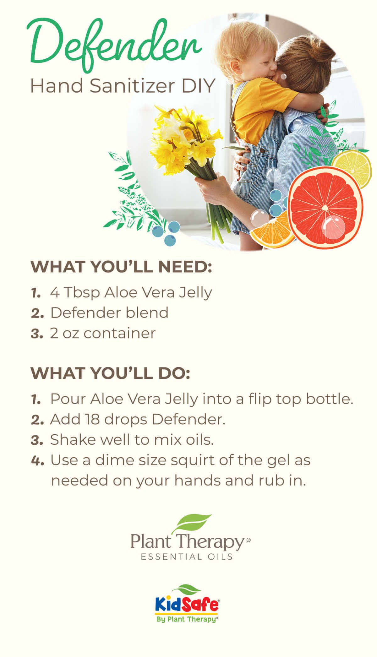 Meet Our Newest Essential Oil Blend Defender Essential Oil