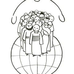 All people are equal in Christ. (Gal. 3:28) Illustration