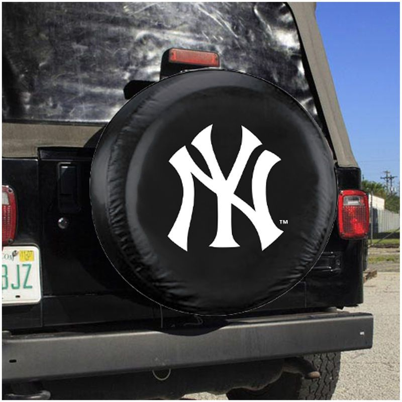 New York Yankees Large Tire Cover | Auto accessories, Mlb teams ...