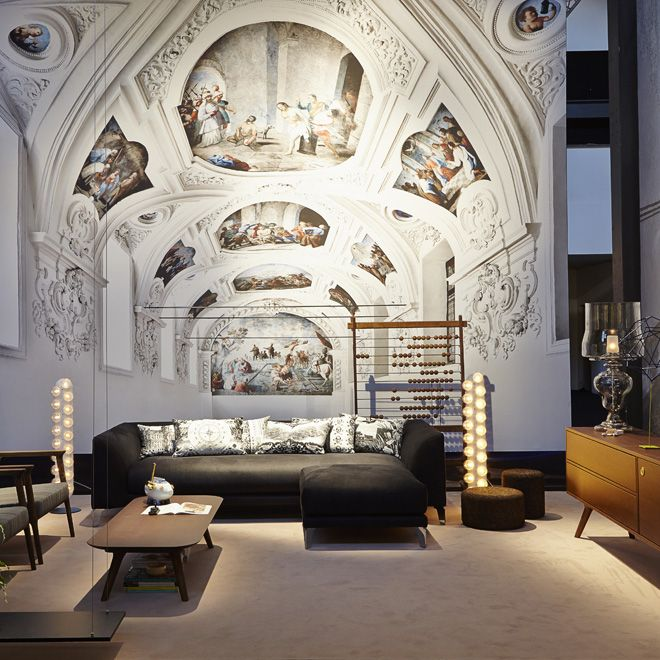 MOOOI's Unexpected Welcome exhibition at Milan Design Week 2014