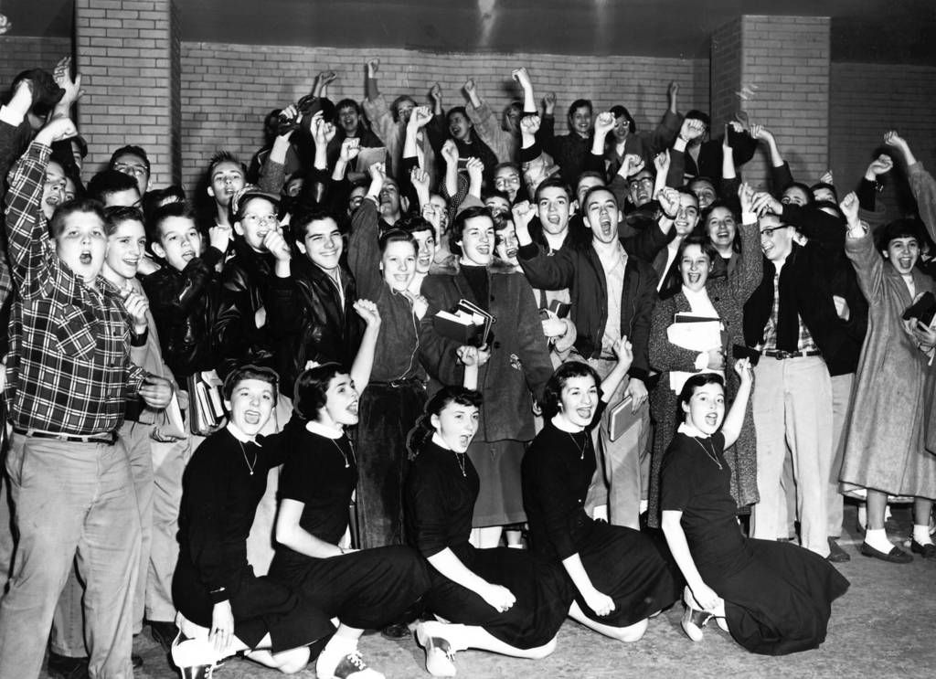 OPHS goes to the state basketball championship, 1956
