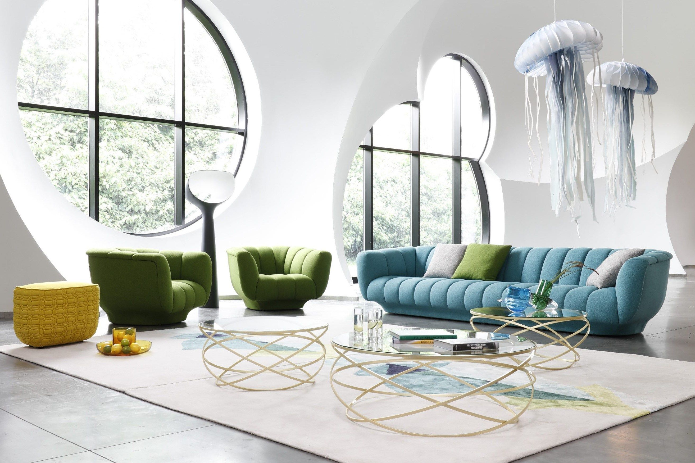 ODEA Sofa By ROCHE BOBOIS Design Maurizio Manzoni, Roberto