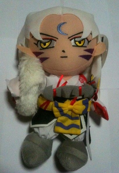 Lord Sesshoumaru Plushie from InuYasha. You can buy it on Ebay!