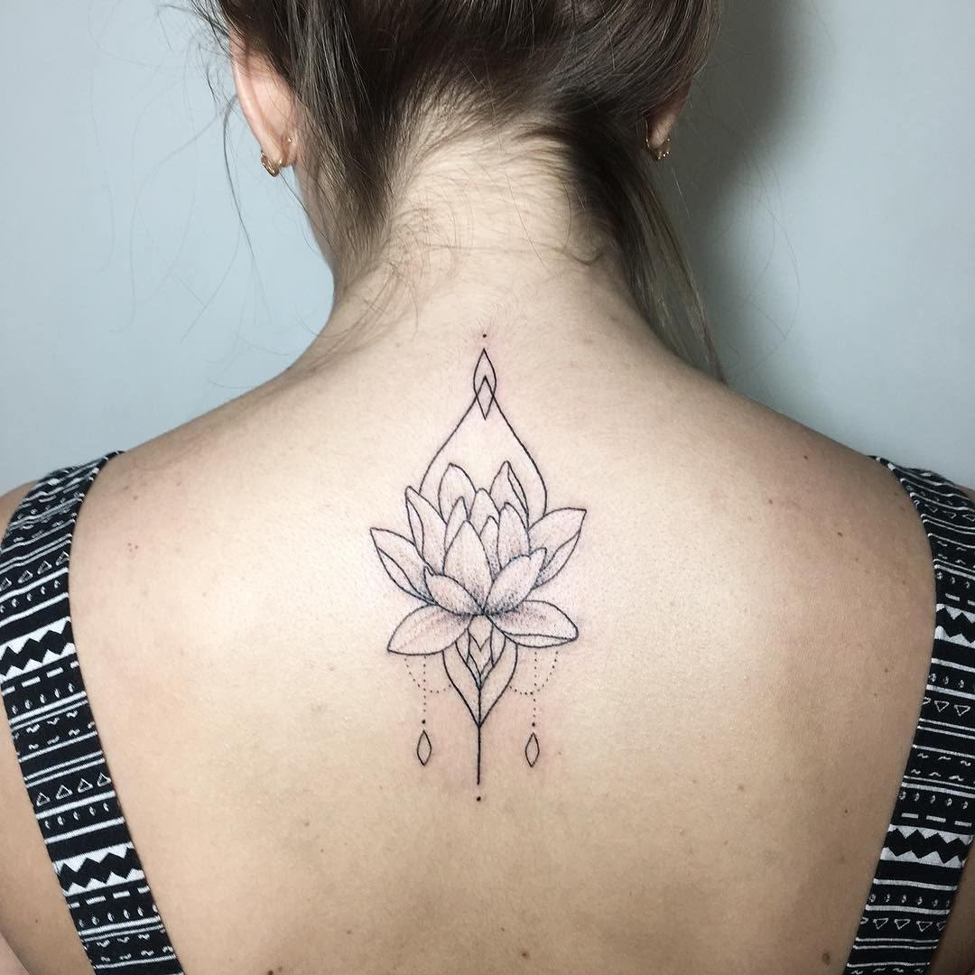 Linework lotus flower tattoos on women pinterest lotus linework lotus flower izmirmasajfo Image collections