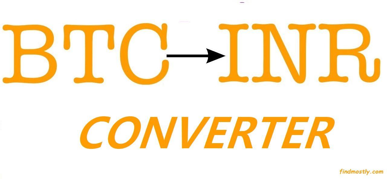 1 BTC TO INR CONVERTER   Converter, Bitcoin, Bitcoin value