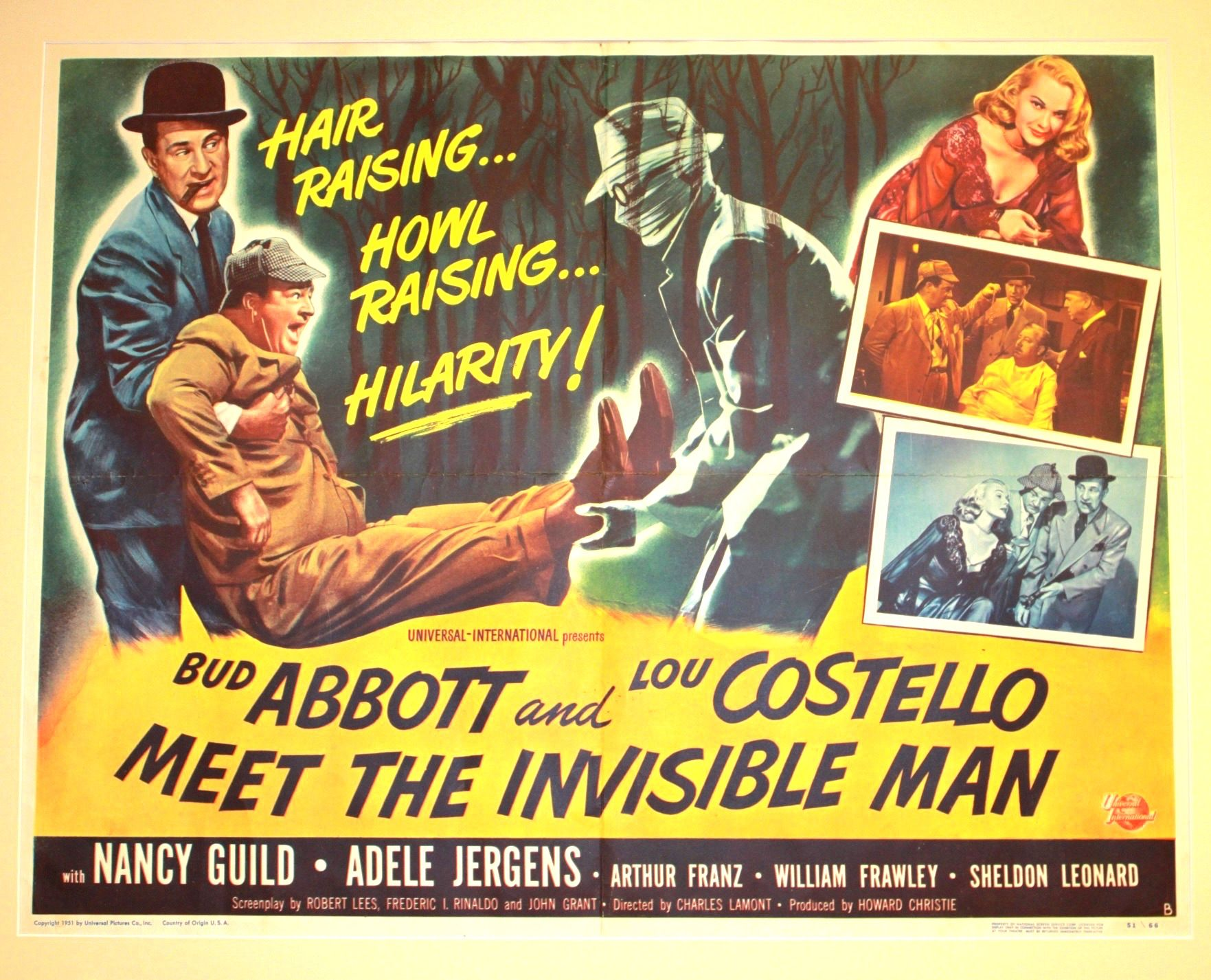 Abbott And Costello Meet The Invisible Man Abbott And Costello Meet The Invisible Man 1951 Abbott And Costello Invisible Man Old Movies