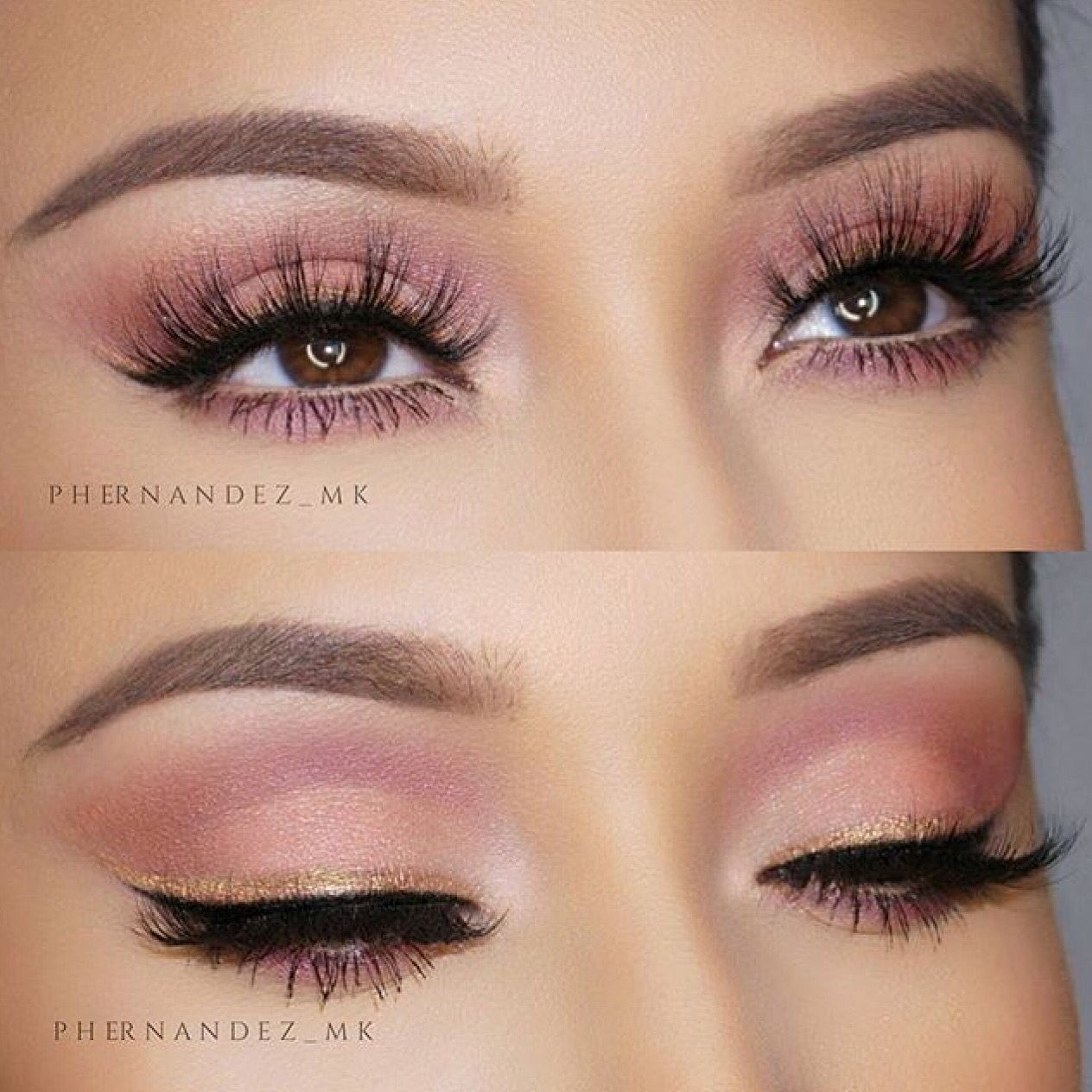 d549f25015f Flirty doll eyes using Lotus Lashes No. 410 | Makeup Ideas ...
