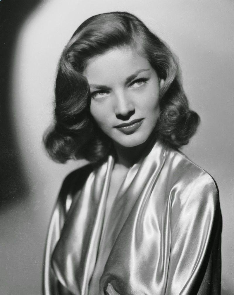 lauren bacall short 1940s hairstyle … | pinteres…