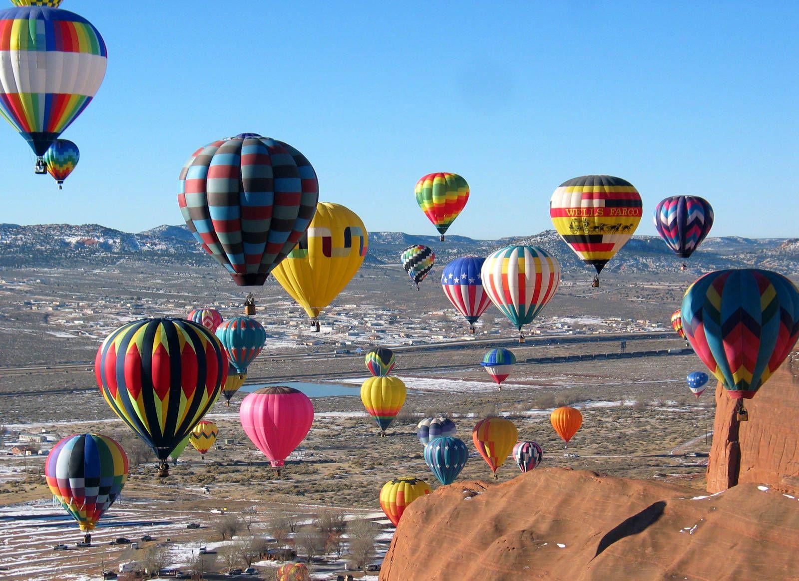 Albuquerque New Mexico hot air balloon festival Hot air