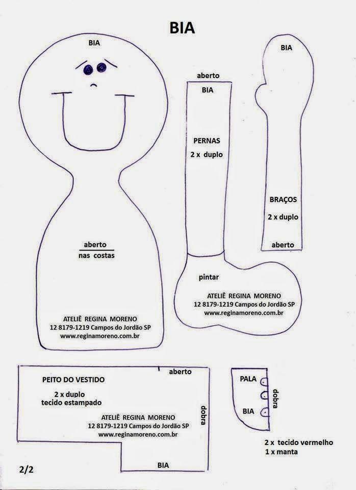 Mimo Artes: Moldes   Lindas ideas   Pinterest   Muñecas de trapo ...