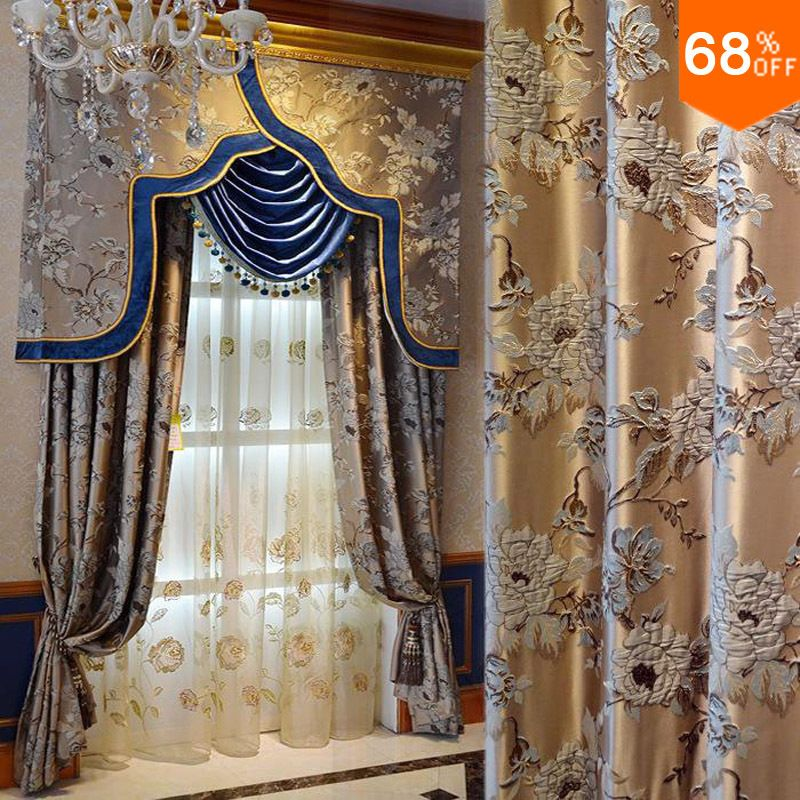 This Luxury Curtain Is Very Fitting For The Hotel Curtain