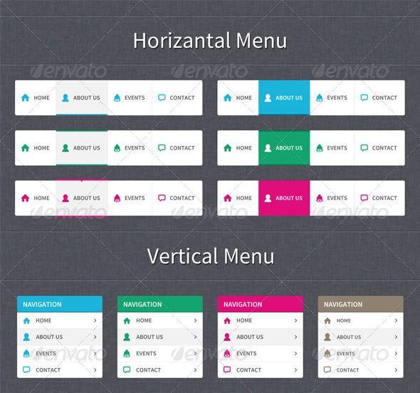 Clear Style Web Navigation Style Web Navigation Navigation Bar