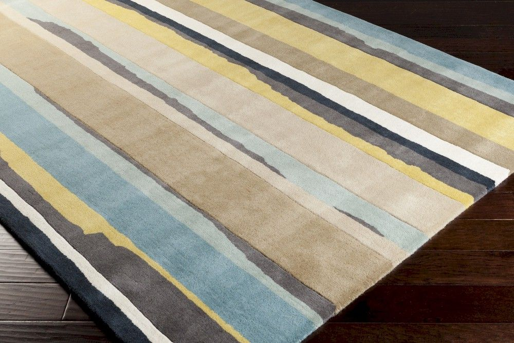 Surya Sanderson Snd 4502 Closeout Area Rug Yellow Area
