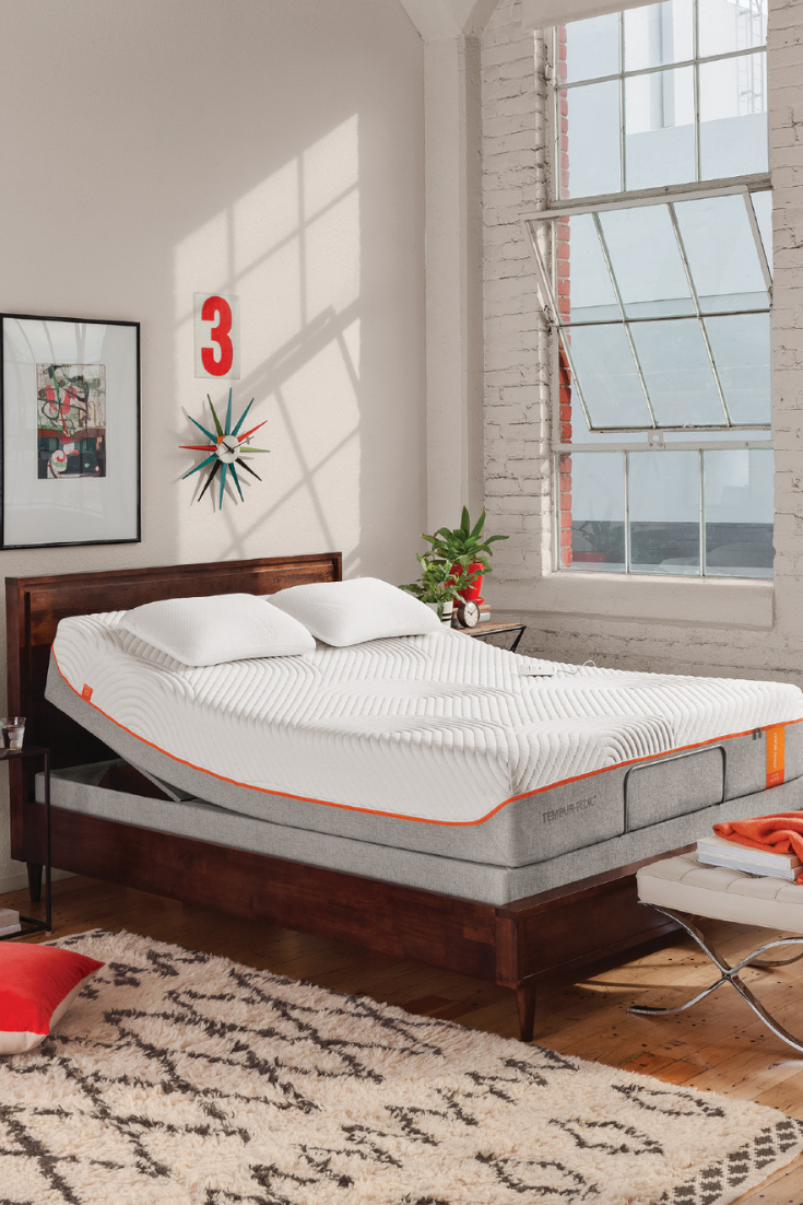 The right TempurPedic mattress and a luxurious adjustable