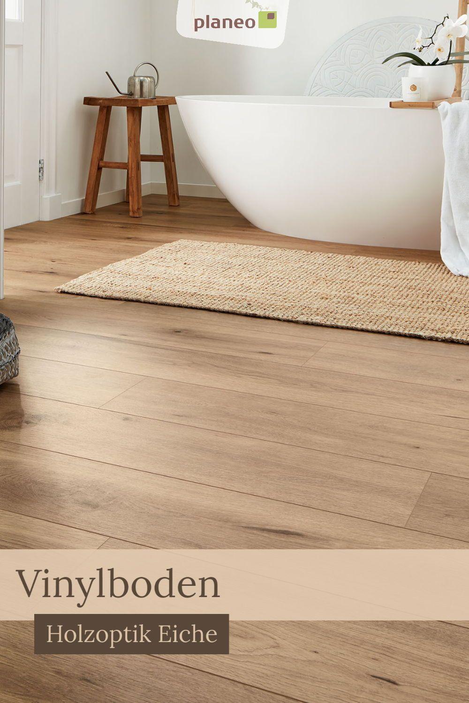 Vinylboden Holzoptik Eiche, moderner und hochwertiger Fußboden