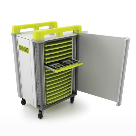 LapCabby Tablet Computer Trolley | Innovative laptop & tablet trolleys | New Thinking in ICT Storage