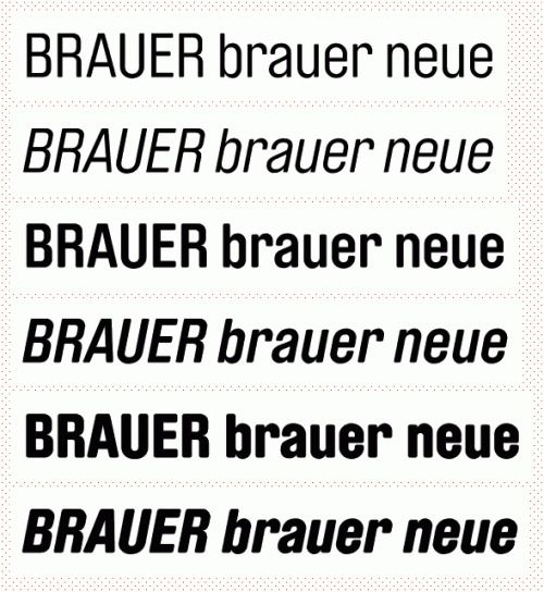 Fonts] Brauer Neue PrintRoot Forums | Typography + Fonts | Fonts