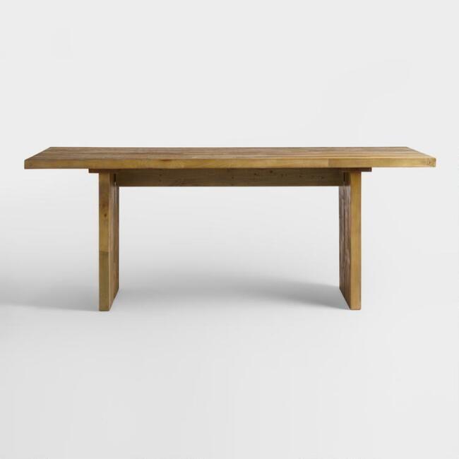 Reclaimed Pine Nolan Dining Table V3 Mccall
