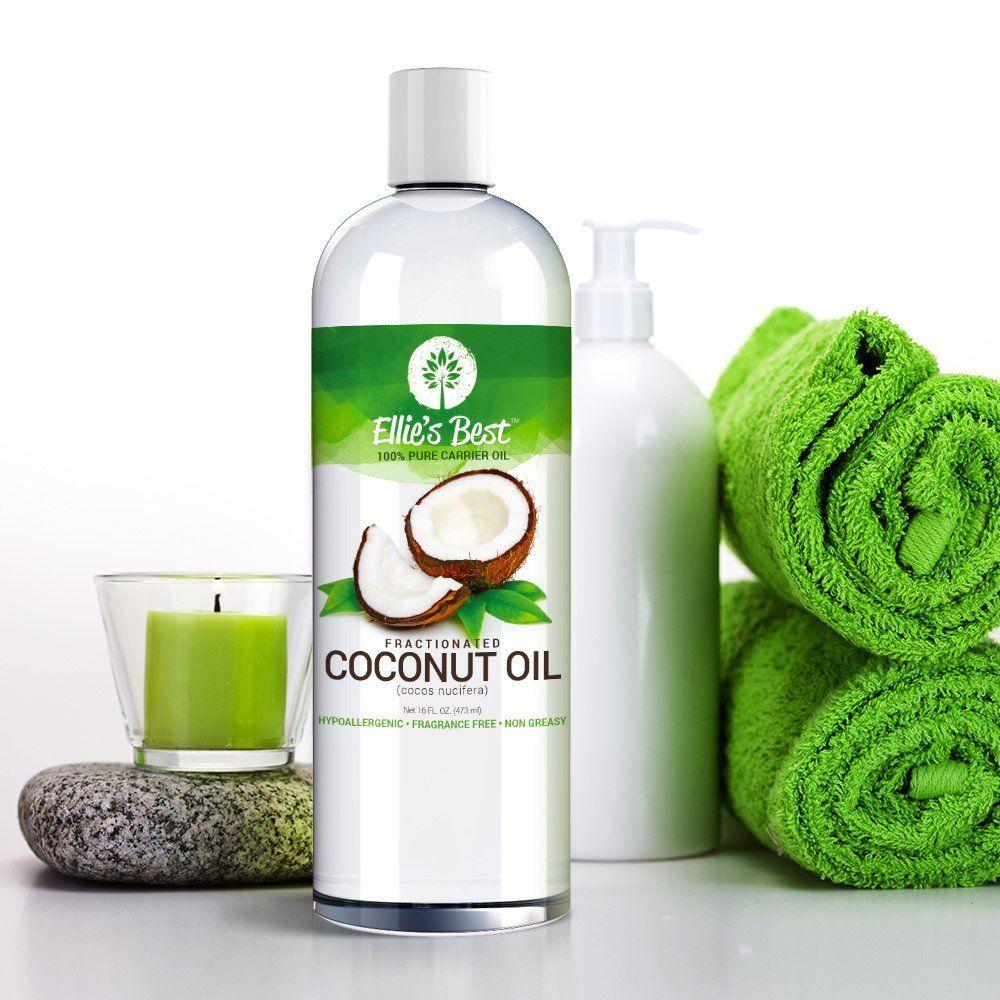 Amazon com - Coconut Oil Pure Fractionated - Large 16oz