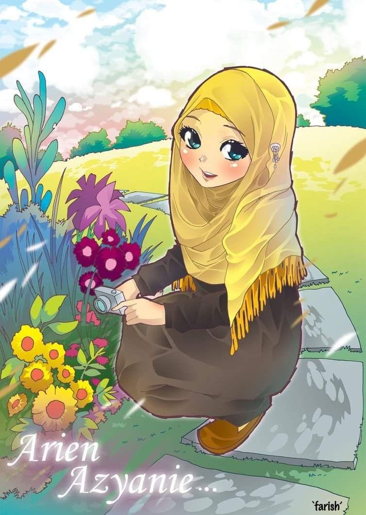 Islamic Anime Seni Kucing