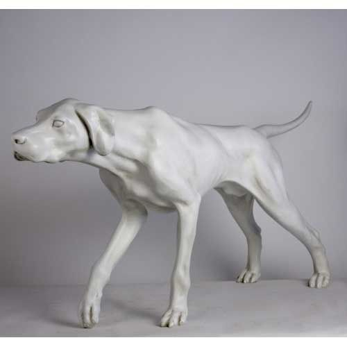 Life Size Pointer Dog Statue Dog Statues Dogs Pointer