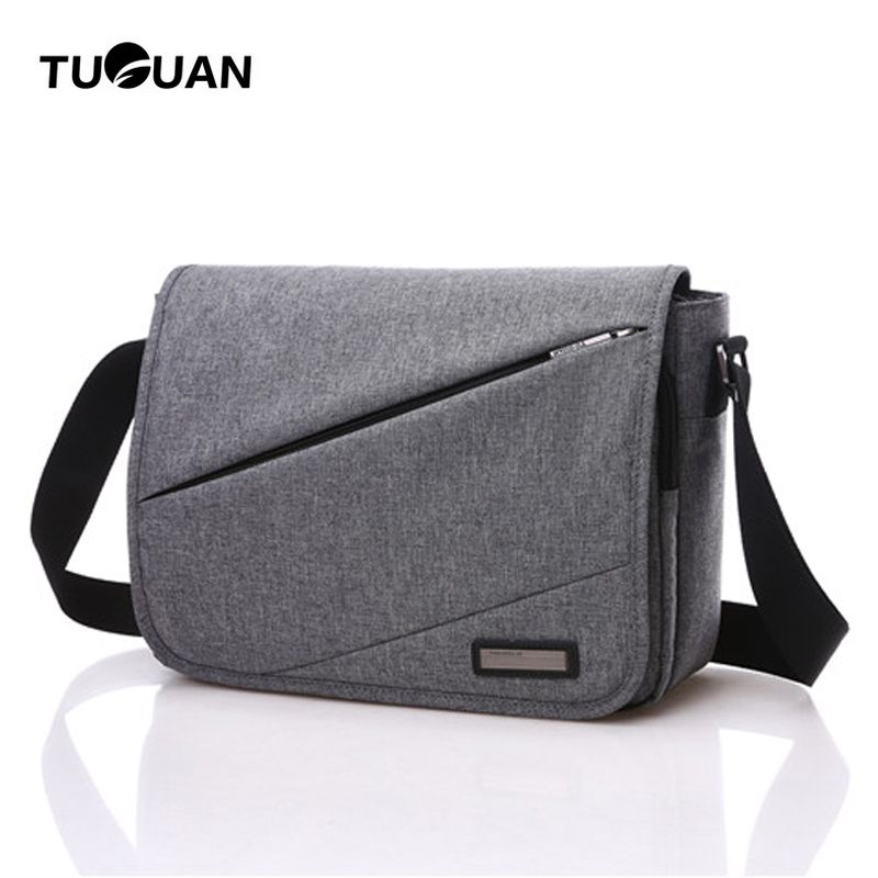 6a0dbb4e5ca TUGUAN Brand 2017 New Designer Unisex Men Canvas Messenger Bags Korean Style  Girl Cross Body Shoulder Bags for A4 Magazine Bolsa