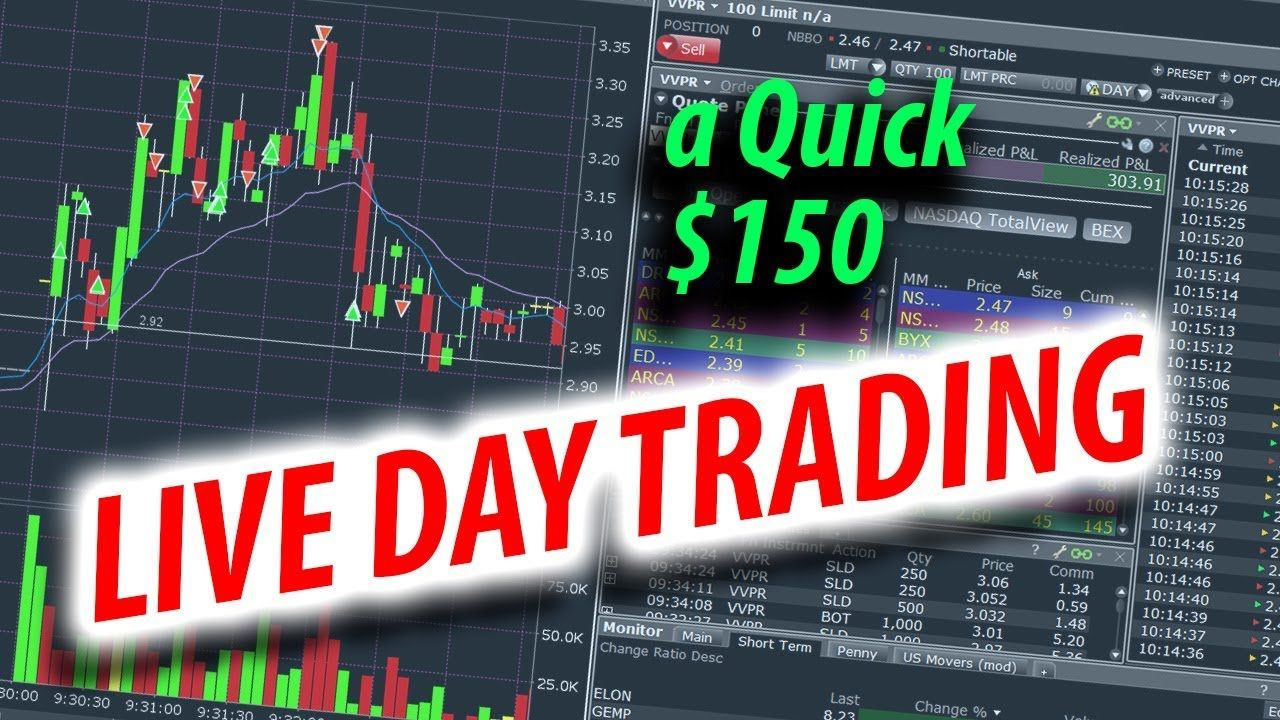Live Trading A Small Green Day In The Trenches Green Day Trading